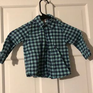 Carters plaid Button Down